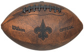 New Orleans Saints Football - Vintage Throwback - 9 Inches