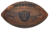 Oakland Raiders Football - Vintage Throwback - 9 Inches