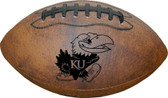 Kansas Jayhawks Football - Vintage Throwback - 9 Inches