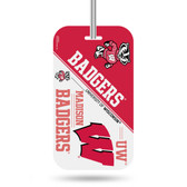Wisconsin Badgers Luggage Tag