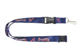 Atlanta Braves Lanyard - Blue