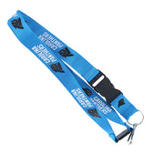 Carolina Panthers Lanyard - Blue