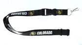 Colorado Buffaloes Lanyard - Black