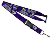 Colorado Rockies Lanyard - Purple