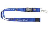 Kansas Jayhawks Lanyard - Blue