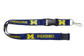 Michigan Wolverines Lanyard - Blue