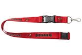 Tampa Bay Buccaneers Lanyard - Red