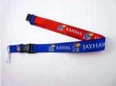Kansas Jayhawks Lanyard - Reversible