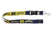 Michigan Wolverines Lanyard - Reversible