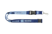North Carolina Tar Heels Lanyard - Reversible