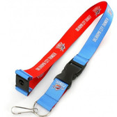 Oklahoma City Thunder Lanyard - Reversible
