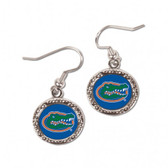 Florida Gators Earrings Round Style