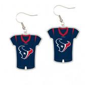 Houston Texans Earrings Jersey Style