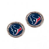 Houston Texans Earrings Post Style
