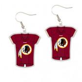 Washington Redskins Earrings Jersey Style
