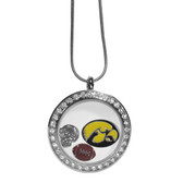 Iowa Hawkeyes Necklace Locket