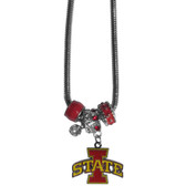 Iowa State Cyclones Necklace - Euro Bead