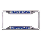 Kentucky Wildcats License Plate Frame - Inlaid