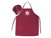 Alabama Crimson Tide Apron and Chef Hat Set