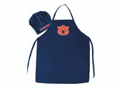 Auburn Tigers Apron and Chef Hat Set Special Order