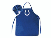 Indianapolis Colts Apron and Chef Hat Set