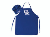 Kentucky Wildcats Apron and Chef Hat Set