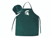 Michigan State Spartans Apron and Chef Hat Set