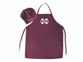 Mississippi State Bulldogs Apron and Chef Hat Set