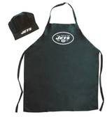 New York Jets Apron and Chef Hat Set