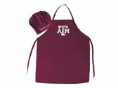 Texas A&M Aggies Apron and Chef Hat Set