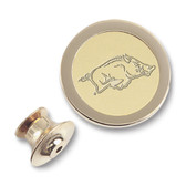 Arkansas Razorbacks Gold Lapel Pin