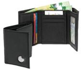 Connecticut Huskies Men's Leather Wallet