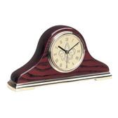 Louisiana Lafayette Ragin Cajuns Napoleon II Mantle Clock