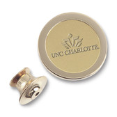 UNC Charlotte 49ers Gold Lapel Pin