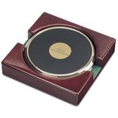 UNC Charlotte 49ers Gold Tone Coaster Set of 2