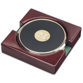 North Carolina Tar Heels Gold Tone Coaster Set of 2