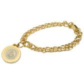 Pittsburgh Panthers Gold Charm Bracelet