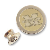 Marshall Thundering Herd Gold Lapel Pin