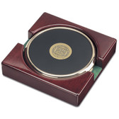 Minnesota Golden Gophers Gold Tone Coaster Set of 2