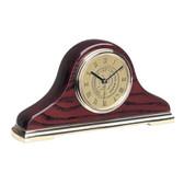 Notre Dame Fighting Irish Napoleon II Mantle Clock