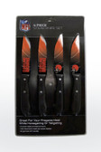 Cleveland Browns Knife Set Steak 4 Pack