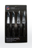 Oakland Raiders Knife Set Steak 4 Pack