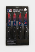 Boston Red Sox Knife Set Steak 4 Pack