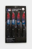 Chicago Cubs Knife Set Steak 4 Pack