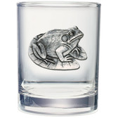Frog Double Old Fashioned Glass Set of 2
