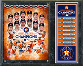 "Houston Astros 2017 World Series Champions Plaque 15"" x 12"""