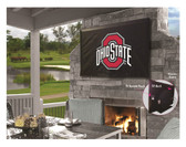 "Ohio State Buckeyes TV Cover (TV sizes 60""-65"")"