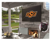"Oklahoma State Cowboys TV Cover (TV sizes 60""-65"")"