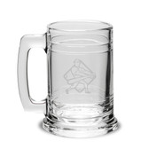 Baseball Player Swing 15oz Deep Etched Colonial Tankard