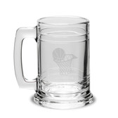 Basketball Hoop 15oz Deep Etched Colonial Tankard